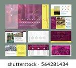 original presentation templates ... | Shutterstock .eps vector #564281434