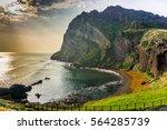 The Songaksan Mountain On Jeju...