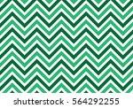 seamless zigzag pattern of... | Shutterstock .eps vector #564292255