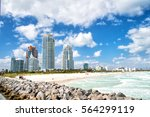 aerial view of south miami... | Shutterstock . vector #564299119