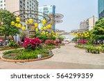 ho chi minh   vietnam   jan 25  ... | Shutterstock . vector #564299359