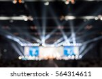 blurred background of event... | Shutterstock . vector #564314611