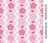 seamless pattern background... | Shutterstock . vector #564315124