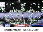 bokeh background from indoor...   Shutterstock . vector #564317089