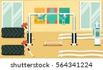 gym colorful 07 | Shutterstock .eps vector #564341224