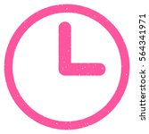 clock grainy textured icon for... | Shutterstock .eps vector #564341971