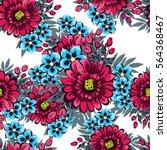 abstract elegance seamless... | Shutterstock .eps vector #564368467