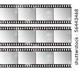 grunge film strip | Shutterstock . vector #56443468