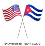 American And Cuban Crossed...