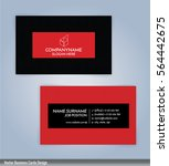 red and black color modern...   Shutterstock .eps vector #564442675