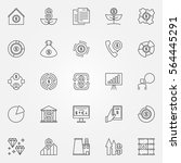 investment and money icons....   Shutterstock .eps vector #564445291