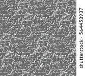 letters imitation seamless...   Shutterstock .eps vector #564453937