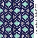 seamless ikat pattern   Shutterstock .eps vector #564499075
