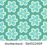 seamless pattern. ornate...   Shutterstock .eps vector #564522409