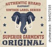 elephant icon tshirt vintage  ...