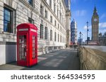 london  england   traditional... | Shutterstock . vector #564534595