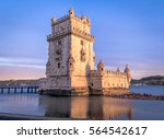 tower of belem  lisbon  portugal | Shutterstock . vector #564542617