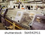 computerized knitting machines... | Shutterstock . vector #564542911