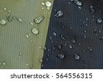 water repellent material of a... | Shutterstock . vector #564556315