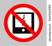 no music player sign...