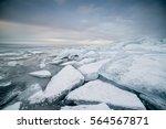 Frozen Lake Balaton With...