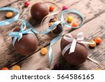Chocolate Easter Eggs With...