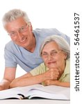 Elderly Couple Together On A...
