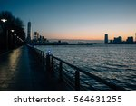 waterfront promenade and modern ...