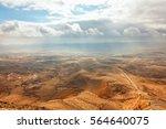 Colored Sand Stone Desert...