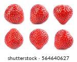 strawberry. fresh berry... | Shutterstock . vector #564640627