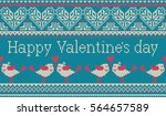 seamless pattern on the theme... | Shutterstock .eps vector #564657589