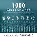 set of 1000 universal solid...