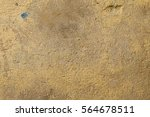 old wall with beige  brown worn ... | Shutterstock . vector #564678511