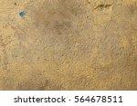 old wall with beige  brown worn ... | Shutterstock . vector #564678511