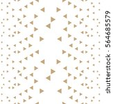 abstract  geometric gold... | Shutterstock .eps vector #564685579