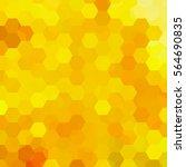 abstract hexagons vector... | Shutterstock .eps vector #564690835