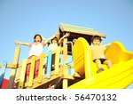 playing in park together | Shutterstock . vector #56470132