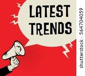 megaphone hand business concept ...   Shutterstock .eps vector #564704059