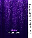 magic glitter background in... | Shutterstock .eps vector #564705391