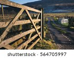 Cattle Grid On A Gravel Track...