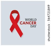 world cancer day icon | Shutterstock .eps vector #564721849