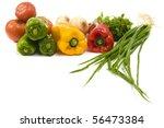 some kind of fresh vegetables.... | Shutterstock . vector #56473384