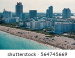 Panoramic View Of South Beach...