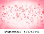 love background hearts... | Shutterstock . vector #564766441