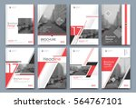 abstract binder layout. white... | Shutterstock .eps vector #564767101
