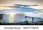 oil tank  | Shutterstock . vector #564773695