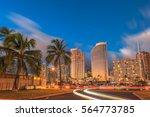 luxurious hotels overlooking... | Shutterstock . vector #564773785