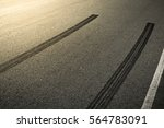 abstract asphalt road... | Shutterstock . vector #564783091