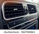 car air conditioning. the air... | Shutterstock . vector #564784861