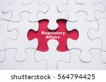 Small photo of Missing puzzle with word: Regulatory Affairs